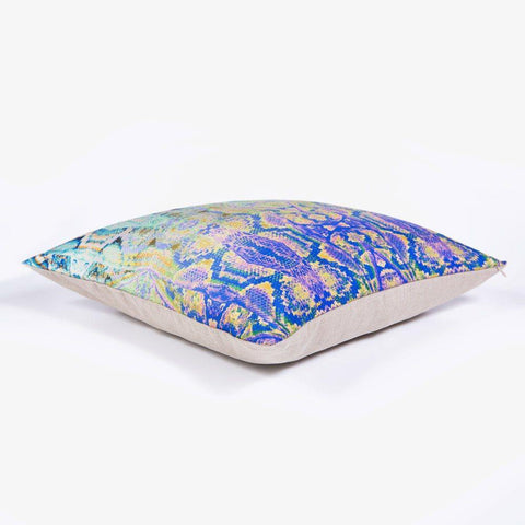Ana Romero Collection Pillows Snake Skin Silk Pillow