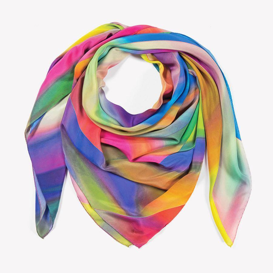 Ana Romero Collection Scarves Colors Silk Scarf