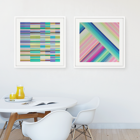Technicolor by Ana Romero Art Print Color DNA Art Print