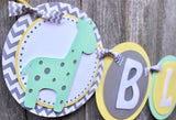 "Giraffe Baby Shower Banner • ""It's a Boy"" • Ships Next Day"