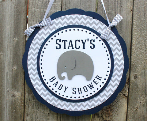 Elephant Door Sign • Ships Next Day