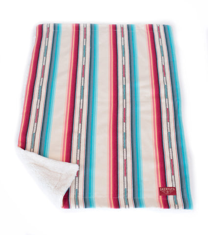 Multi Stripe Baby Blanket/ Kids Camp Blanket