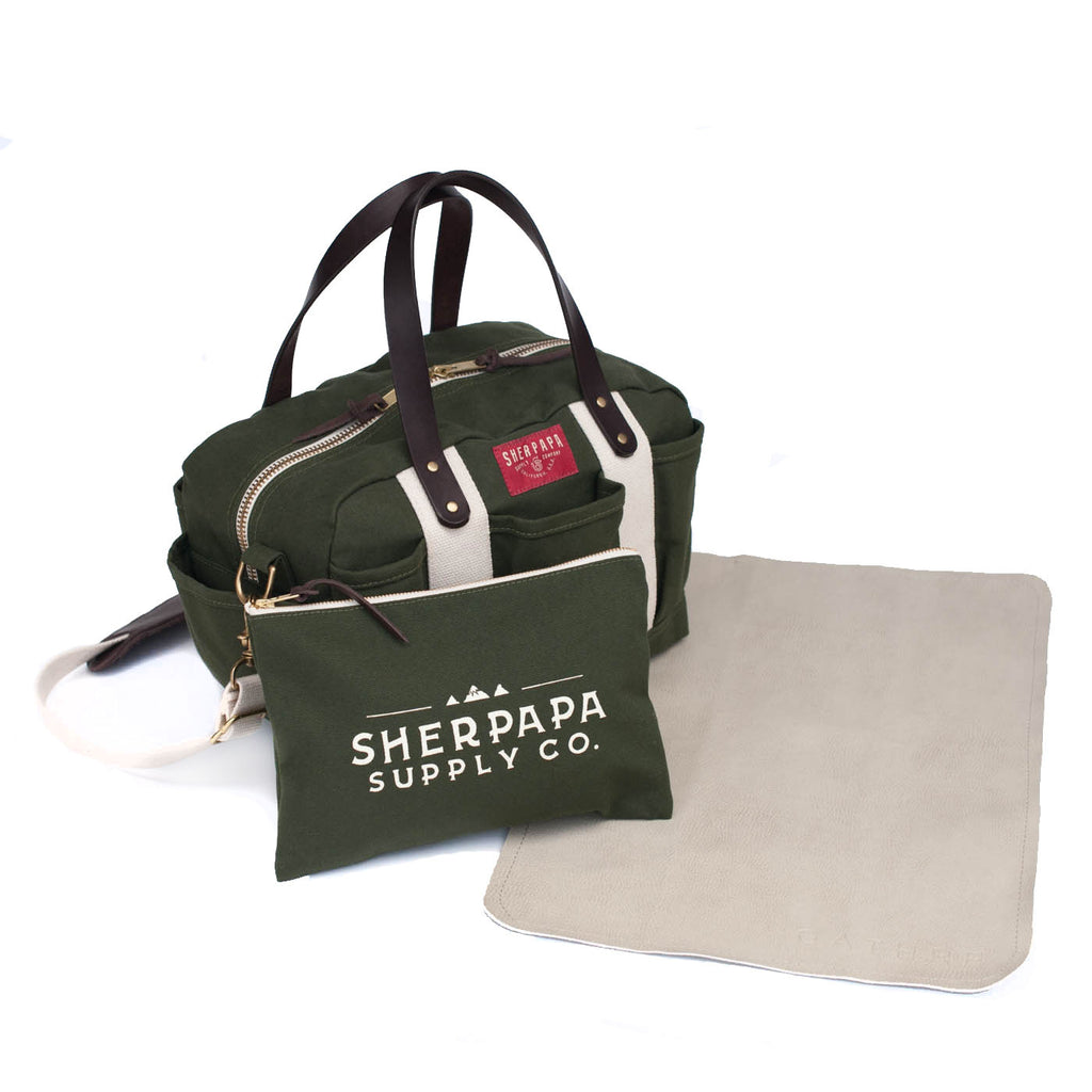 The SIERRA Diaper Bag Set