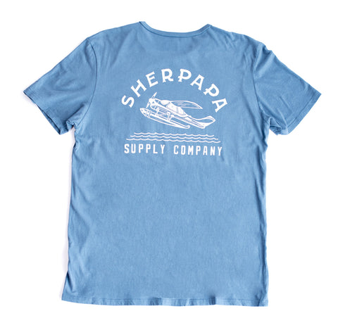 Sherpapa Supply Co. Seaplane Pocket T