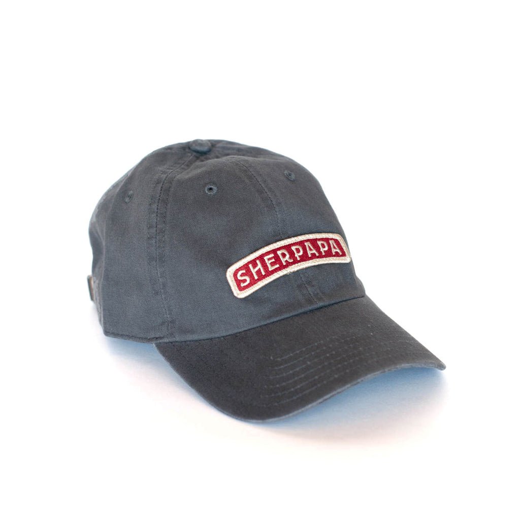 SHERPAPA Dad Hat- Grey