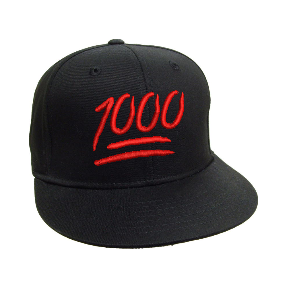 Keep It 1000 Black Snapback