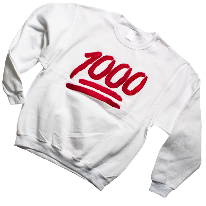 Snow White 1000 Sweater