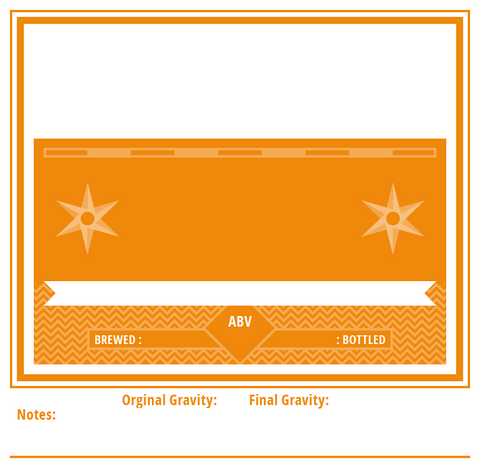 Create Your Label(Orange)