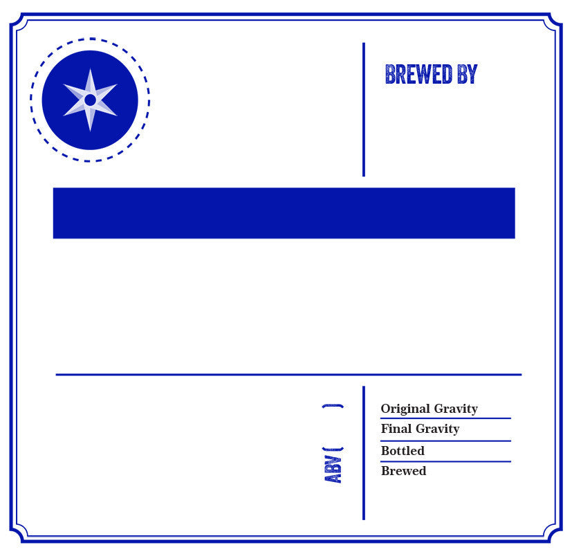 Create Your Label(blue)