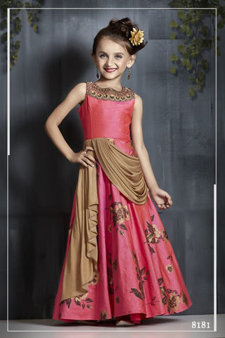 GIRLS GOWN 091