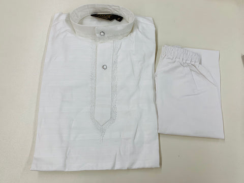 White cotton Kurta Pajama