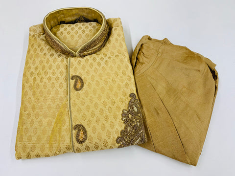GOLDEN MEN'S KURTA PYJAMA