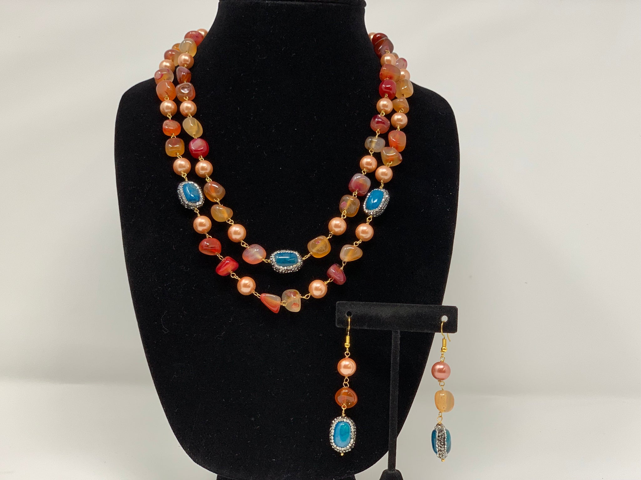 Multi Colored Necklace - Sakkhi Style