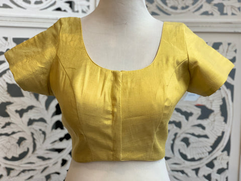Yellow Gold Shimmer Blouse