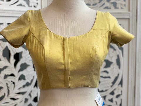 Light Gold Shimmer Blouse