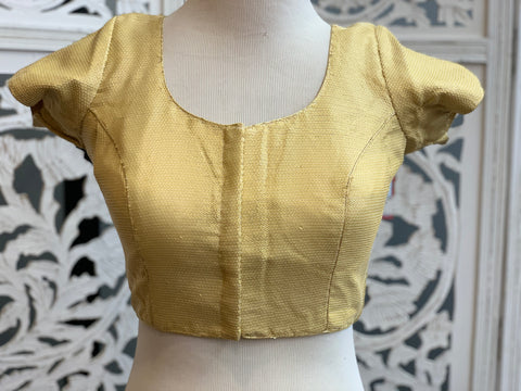 Gold Sequins Blouse
