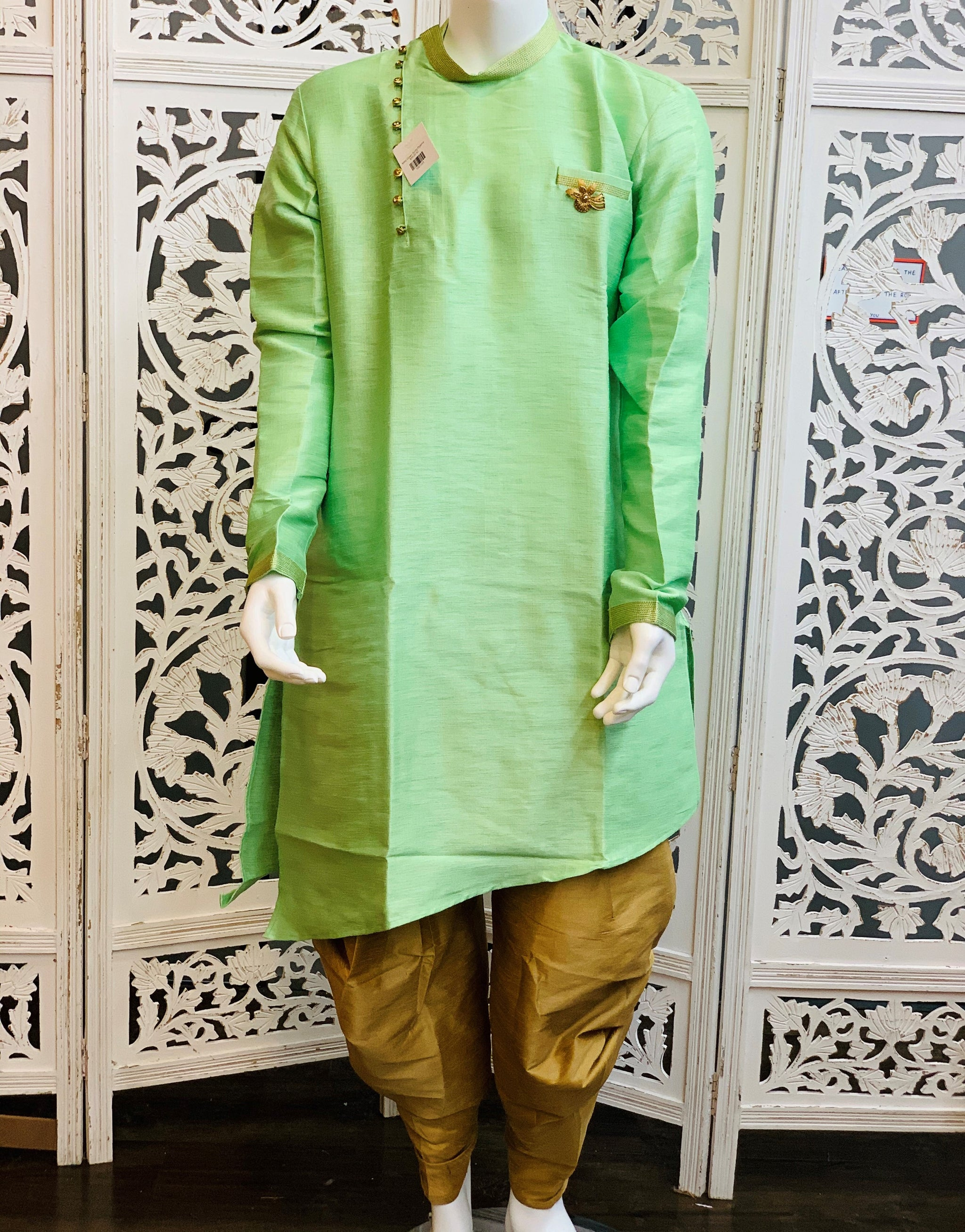 Mint Green Kurta Pyjama