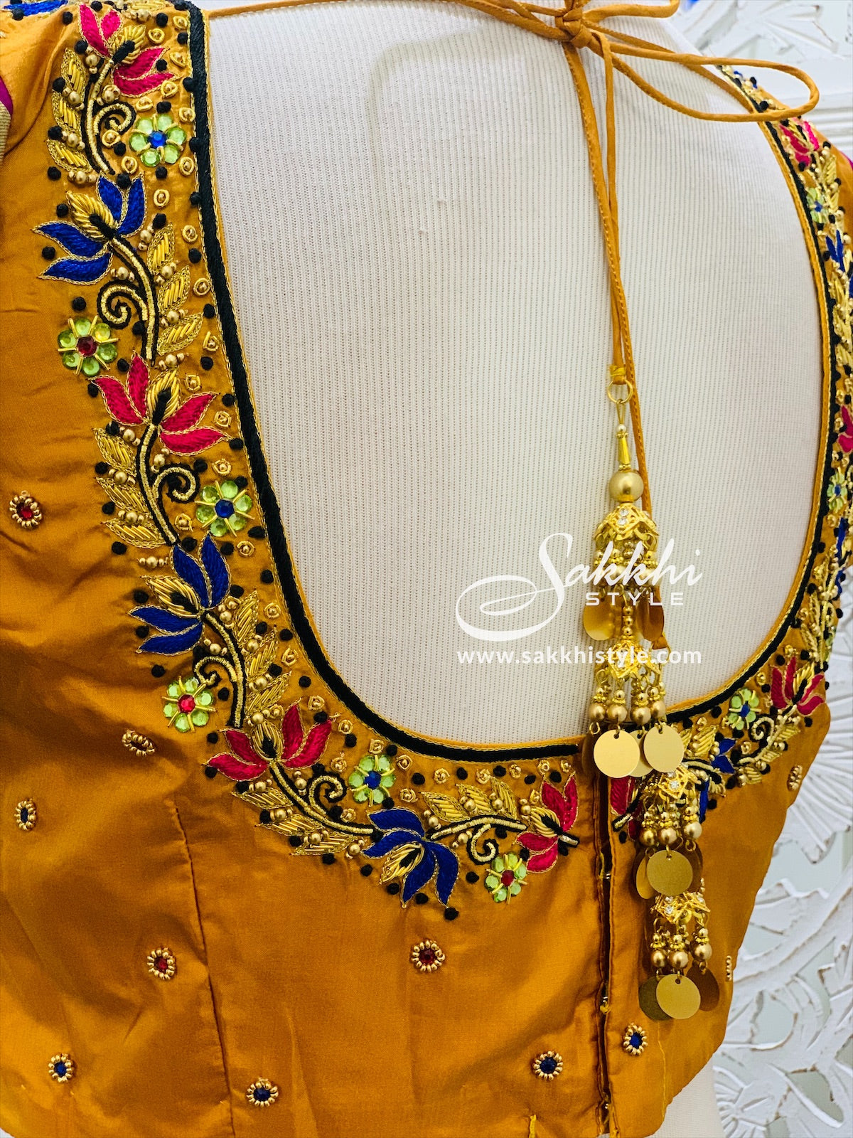 Yellow and Black Lehenga Choli