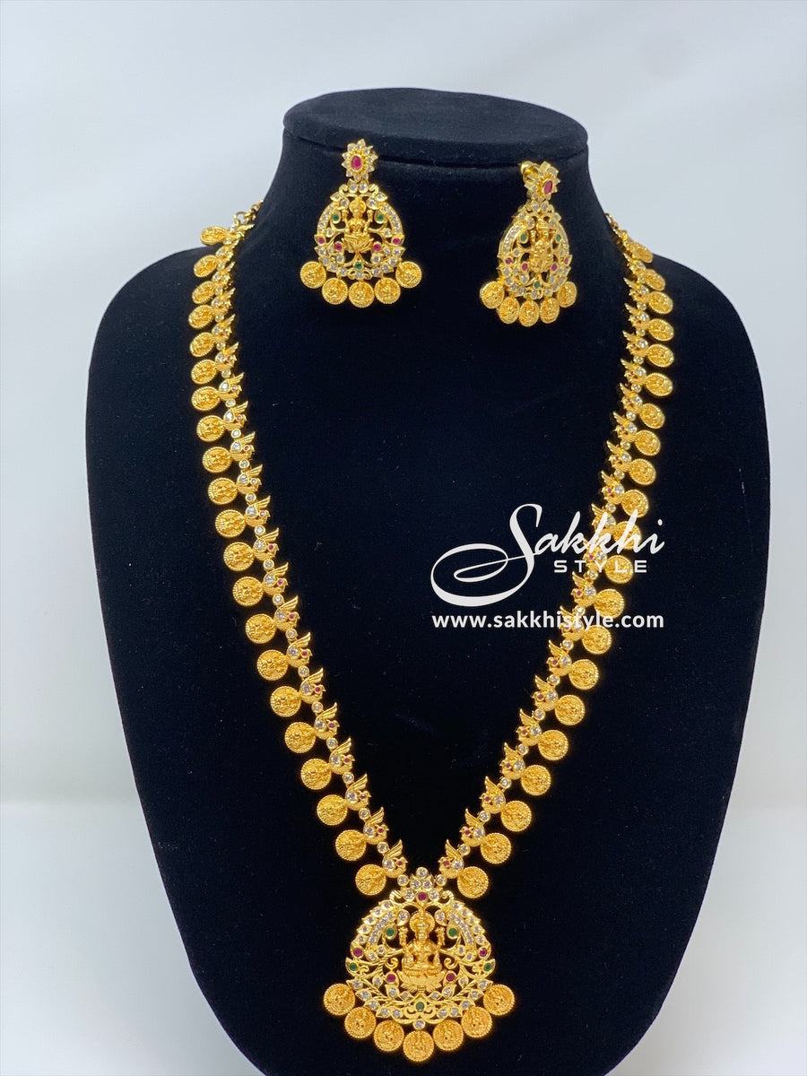 Kasu Mala Necklace Set