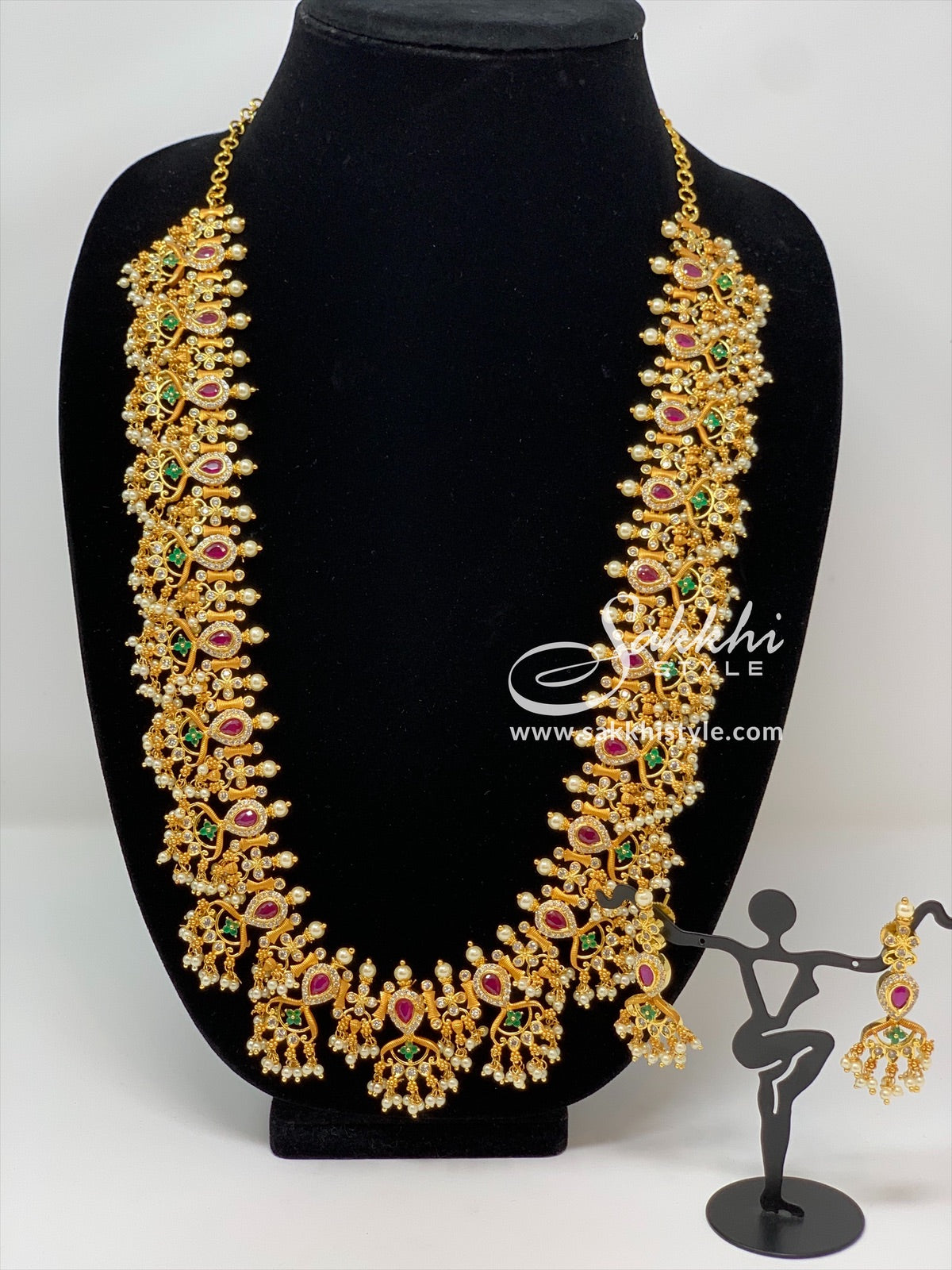 Gutta Pusalu Necklace Set