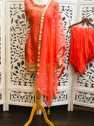 Peach Salwar Suit