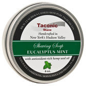 TACONIC EUCALYPTUS MINT SHAVING SOAP