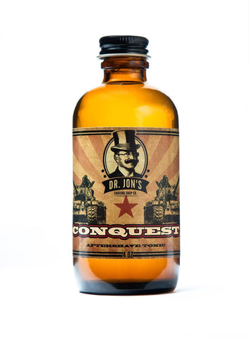 DR. JON'S CONQUEST AFTERSHAVE TONIC