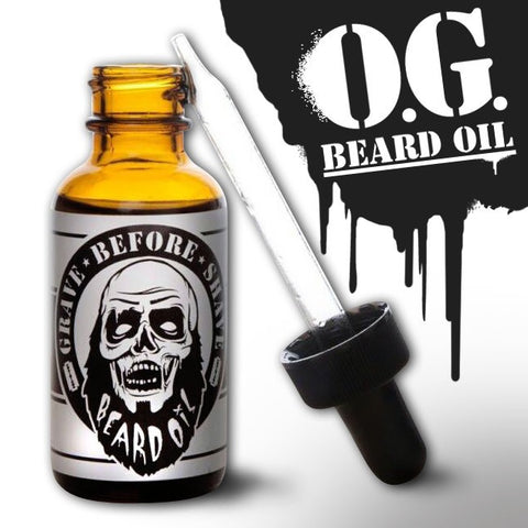 GRAVE BEFORE SHAVE O.G. Beard Oil