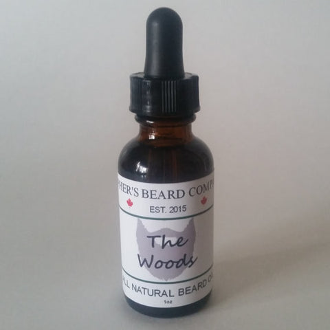 Topher's The Woods Beard Oil