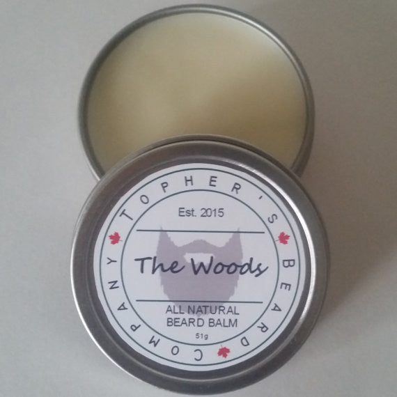 Topher's The Woods Beard Balm