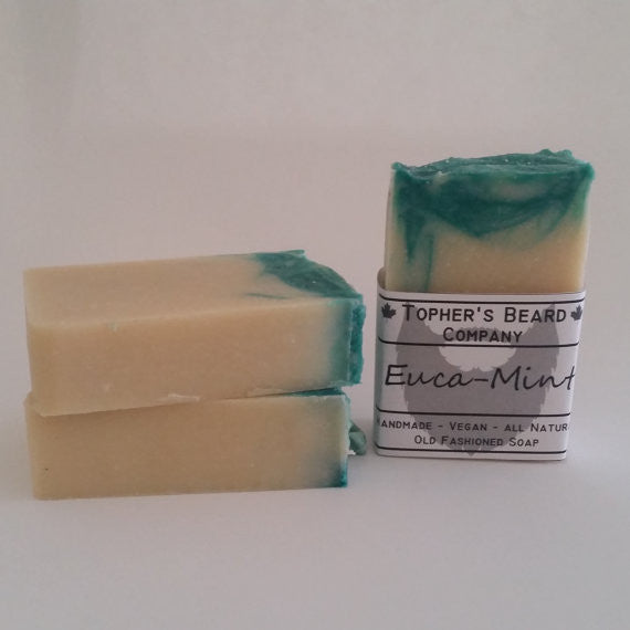 Topher's Euca-Mint Beard (and Body) Wash