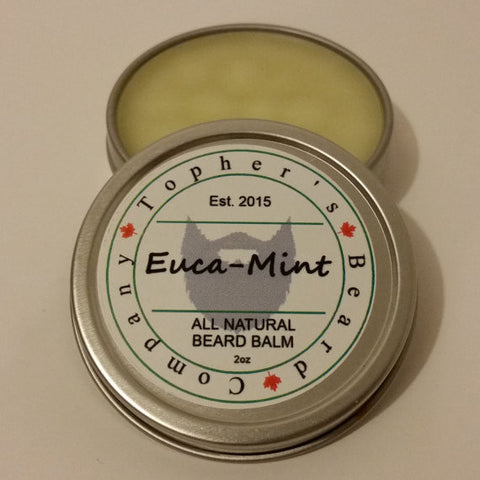 Topher's Euca Mint Beard Balm
