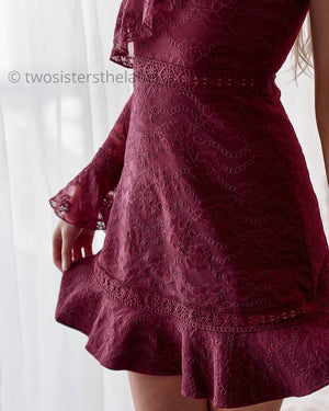 MANHATTAN DRESS - RED