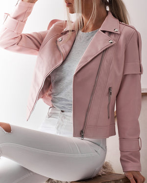 ARIA JACKET - BLUSH