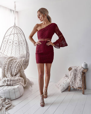 ELYSIAN DRESS - WINE