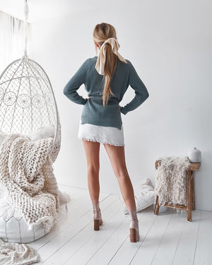 MADI KNIT - TEAL