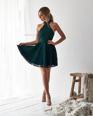SPENCE DRESS - GREEN