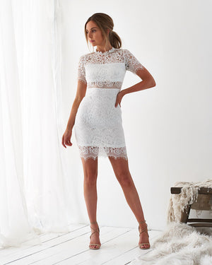 HAYLEY LACE DRESS