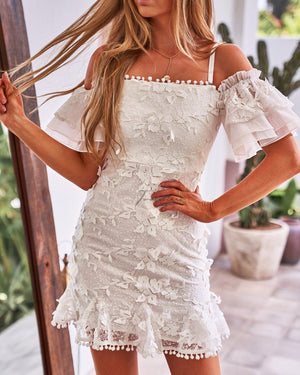 BEATRICE DRESS - WHITE