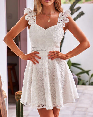 CODIE DRESS - WHITE