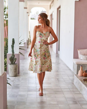 ANTHEA DRESS - FLORAL
