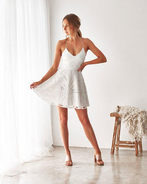 LAURIE DRESS - WHITE