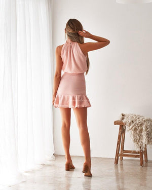 TWO SISTERS THE LABEL: PIP DRESS - BLUSH