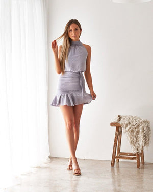 TWO SISTERS THE LABEL: PIP DRESS - FROSTED GREY
