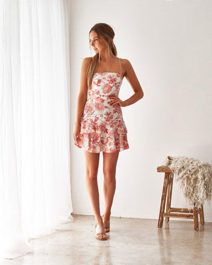 SUNSET DRESS - FLORAL