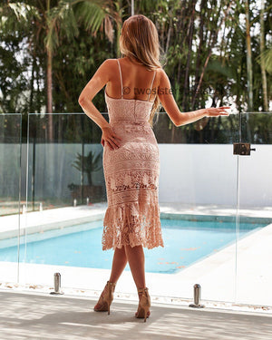 ESTELLE DRESS - BLUSH