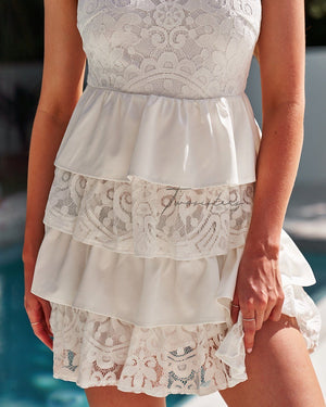 JACKIE DRESS - WHITE