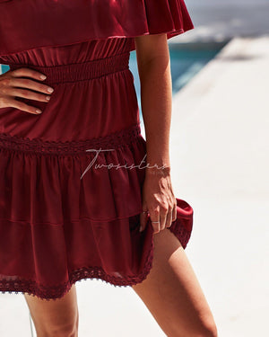 TWO SISTERS THE LABEL: CASSIE DRESS - RED