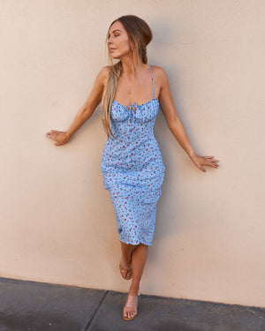 LEXIE DRESS - BABY BLUE