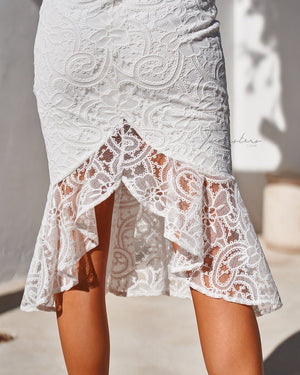 BRIDGET DRESS - WHITE
